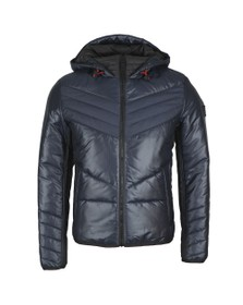 BOSS Mens Blue Opalm Jacket