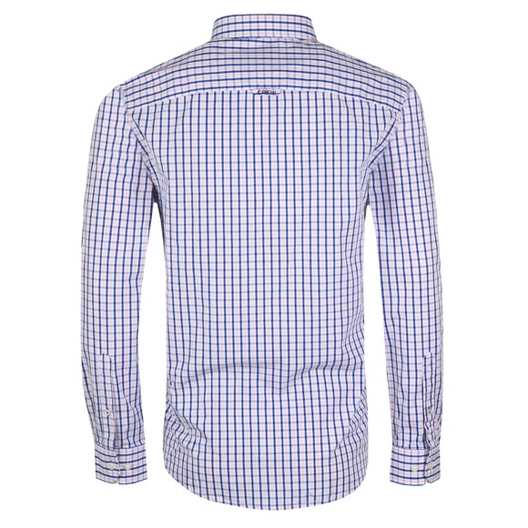 Crew Clothing Company Mens Pink Classic Tattersall Shirt main image