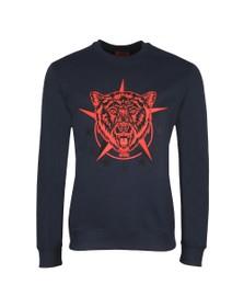 HUGO Mens Blue Daller Sweatshirt