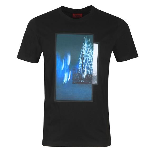 HUGO Mens Black Dinge T-Shirt