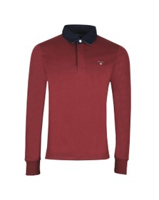 Gant Mens Red The Original Heavy Rugger Shirt
