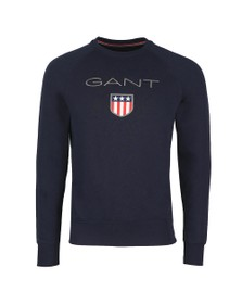 Gant Mens Blue Shield Sweat