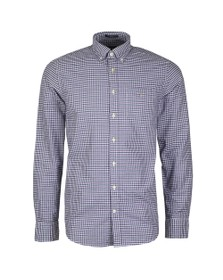 Gant Mens Purple Oxford 3 Col Gingham Shirt