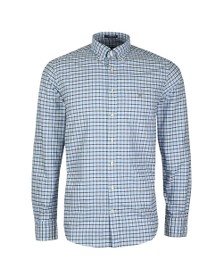 Gant Mens Blue Oxford 3 Col Gingham Shirt