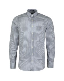 Gant Mens Blue Broadcloth Banker Shirt