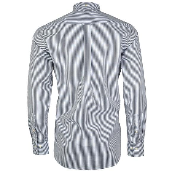 Gant Mens Blue Broadcloth Banker Shirt main image