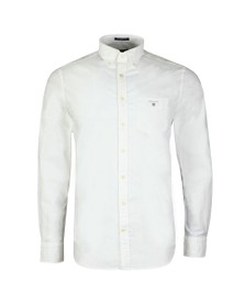 Gant Mens White The Oxford Shirt