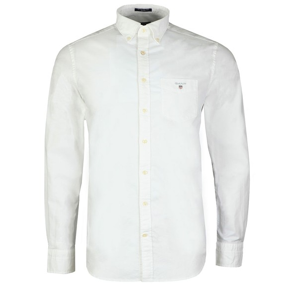 Gant Mens White The Oxford Shirt main image