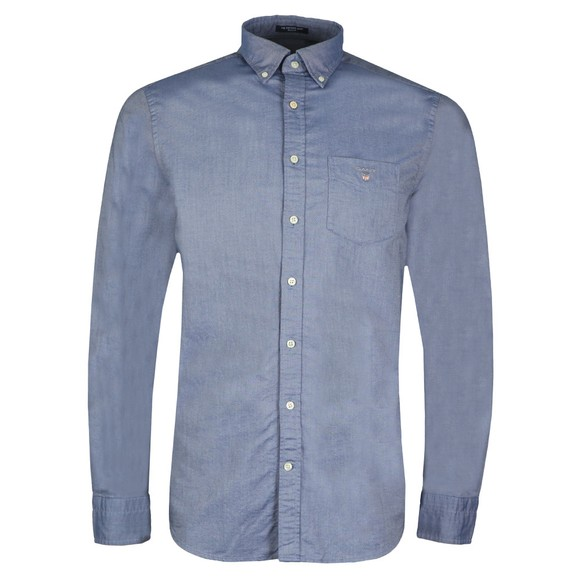 Gant Mens Blue The Oxford Shirt