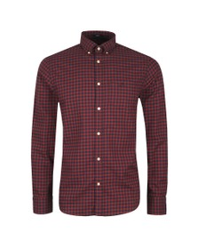 Gant Mens Red Buffalo Check Shirt