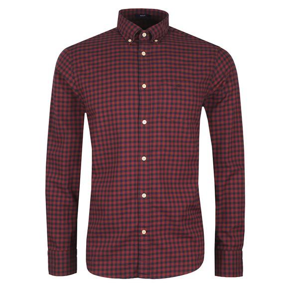 Gant Mens Red Buffalo Check Shirt main image