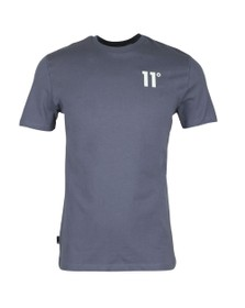 Eleven Degrees Mens Grey Core Tee