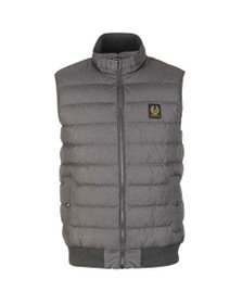 Belstaff Mens Grey Circuit Gilet