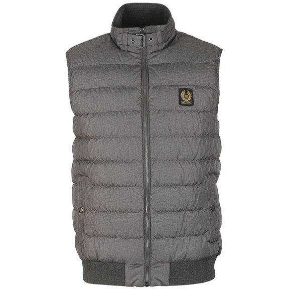 Belstaff Mens Grey Circuit Gilet main image