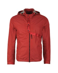 C.P. Company Mens Red Micro M Goggle Jacket