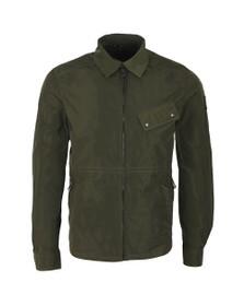 Belstaff Mens Green Camber Overshirt