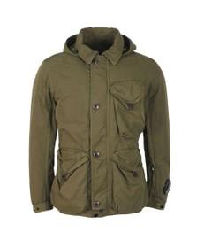 C.P. Company Mens Green La Mille Goggle Jacket