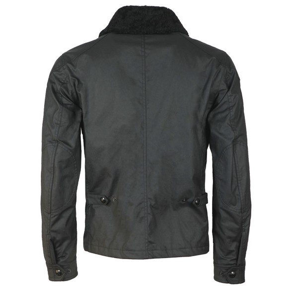 Belstaff Mens Black Patrol Jacket With Shearling main image