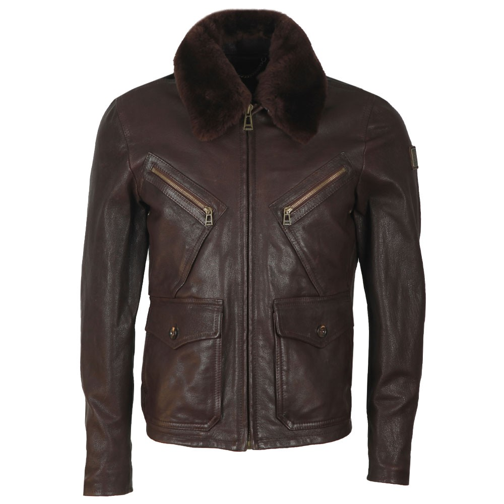 Conner Jacket With Shearling Collar main image