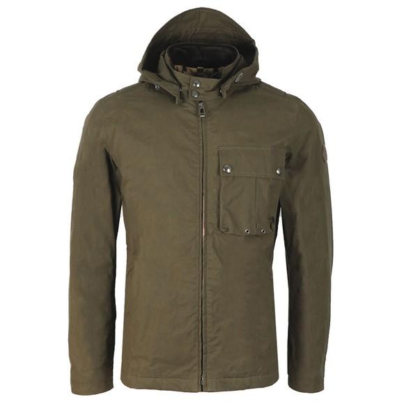 Belstaff Mens Green Wing Jacket