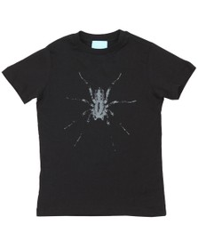 Lanvin Boys Black Spider T Shirt