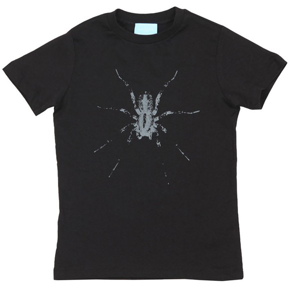 Lanvin Boys Black Spider T-Shirt