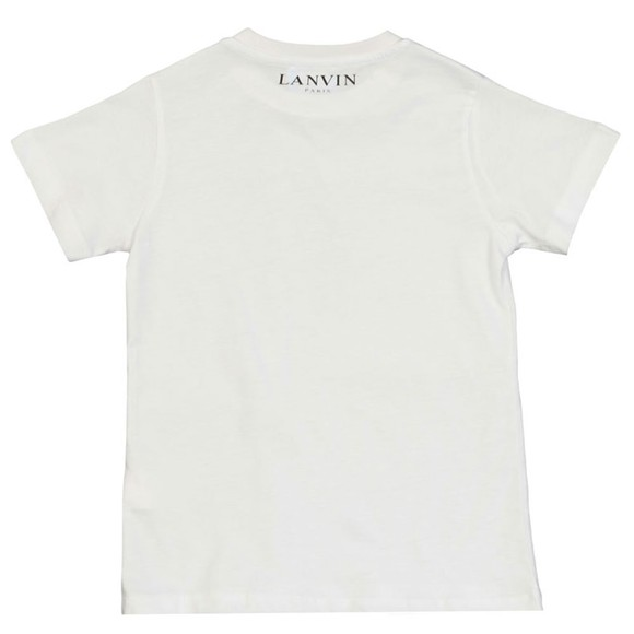 Lanvin Boys White Spider T-Shirt