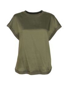 Ted Baker Womens Green Rozia Sculpted Hem Relaxed T Shirt