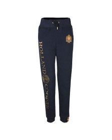 Holland Cooper Womens Blue HC Crest Jogger