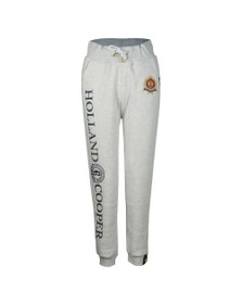 Holland Cooper Womens Grey HC Crest Jogger