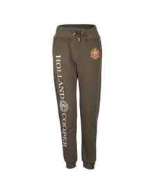 Holland Cooper Womens Green HC Crest Jogger