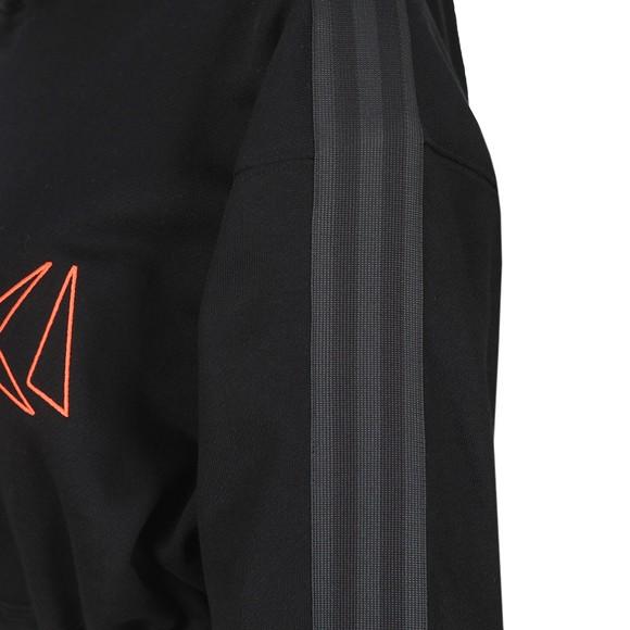 adidas Originals Womens Black X Fiorucci Adidas Loves Hoody main image