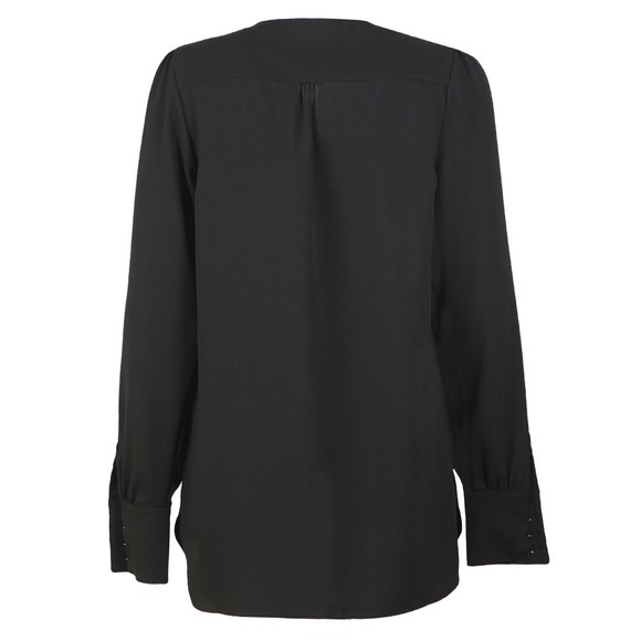 Holland Cooper Womens Black Zip Shirt main image