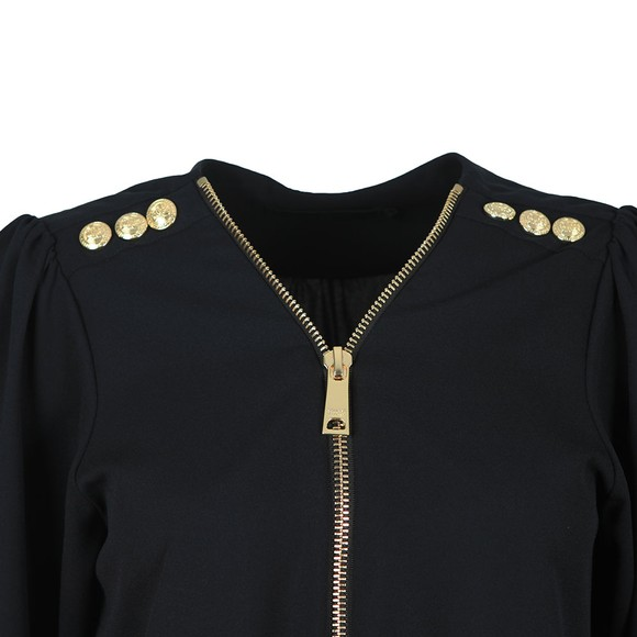 Holland Cooper Womens Blue Zip Shirt main image