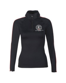 Holland Cooper Womens Black Heritage Equi Base Layer