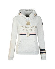 Holland Cooper Womens Grey HC Iconic Hoody