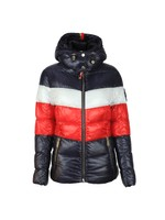 Tri Colour Puffer Jacket