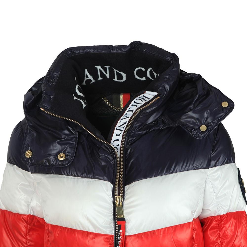 Tri Colour Puffer Jacket main image