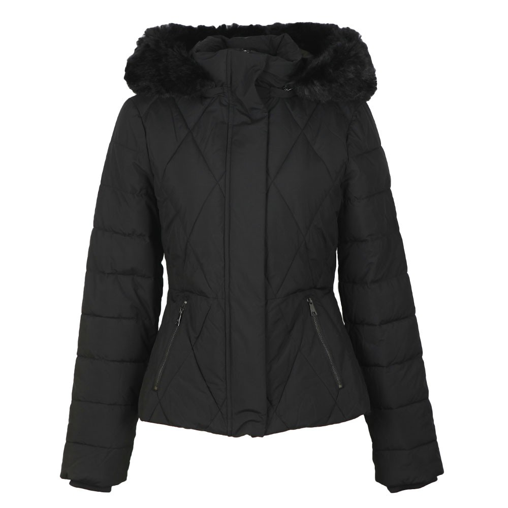 Erikaa Short Faux Fur Hooded  Down Jacket main image