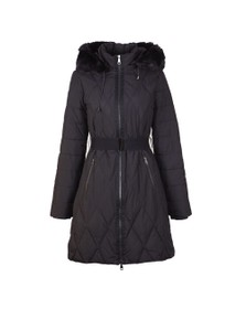 Ted Baker Womens Black Winiy Quilted Effect Padded Jacket