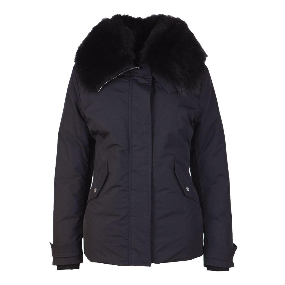 Petrel Jacket With Fur Collar