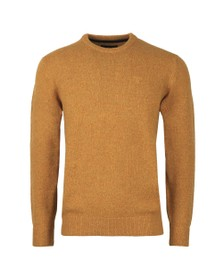 Barbour Lifestyle Mens Yellow Tisbury Crew Jumper