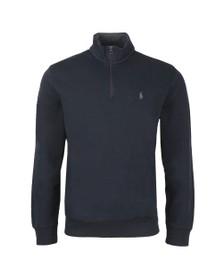 Polo Ralph Lauren Mens Blue Half Zip Sweatshirt