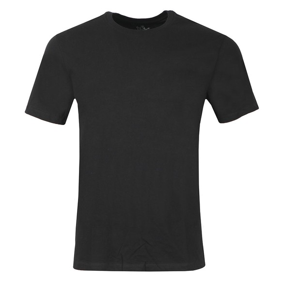 True Religion Mens Black TR T-Shirt