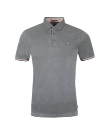 Ted Baker Mens Grey Earbus Polynosic Polo Shirt