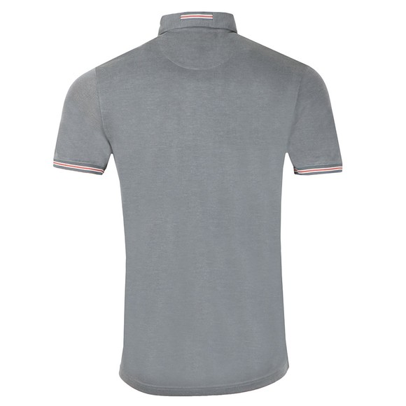 Ted Baker Mens Grey Earbus Polynosic Polo Shirt main image