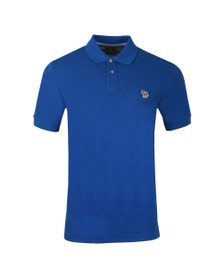PS Paul Smith Mens Blue Zebra Polo Shirt