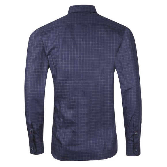 Ted Baker Mens Blue Bonjour Check Shirt main image