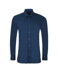 Ted Baker Mens Blue Narwich Plain Endurance Shirt
