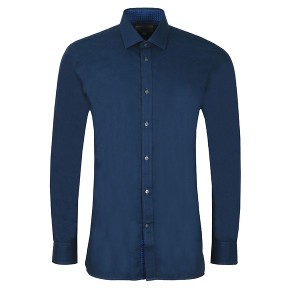 Ted Baker Mens Blue Narwich Plain Endurance Shirt main image